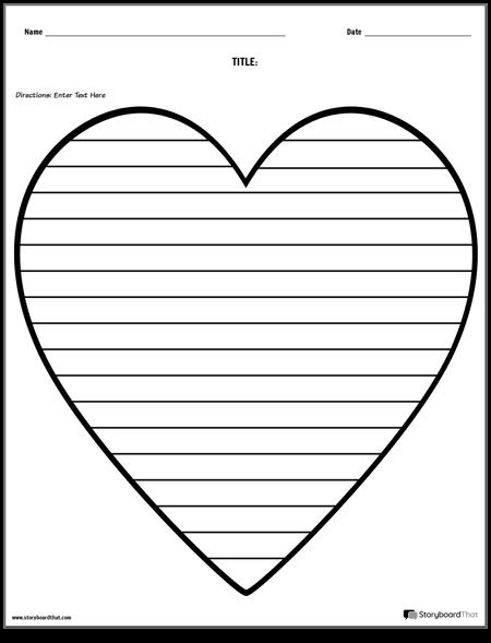Creative Writing - Heart
