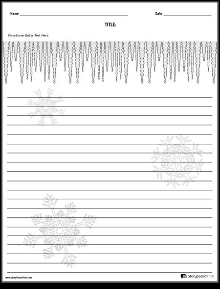 Creative Writing - Winter