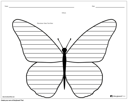 Creative Writing - Butterfly