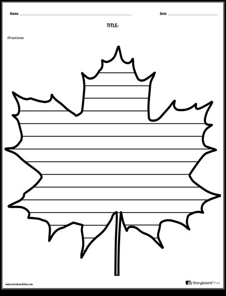 Creative Writing - Maple Leaf