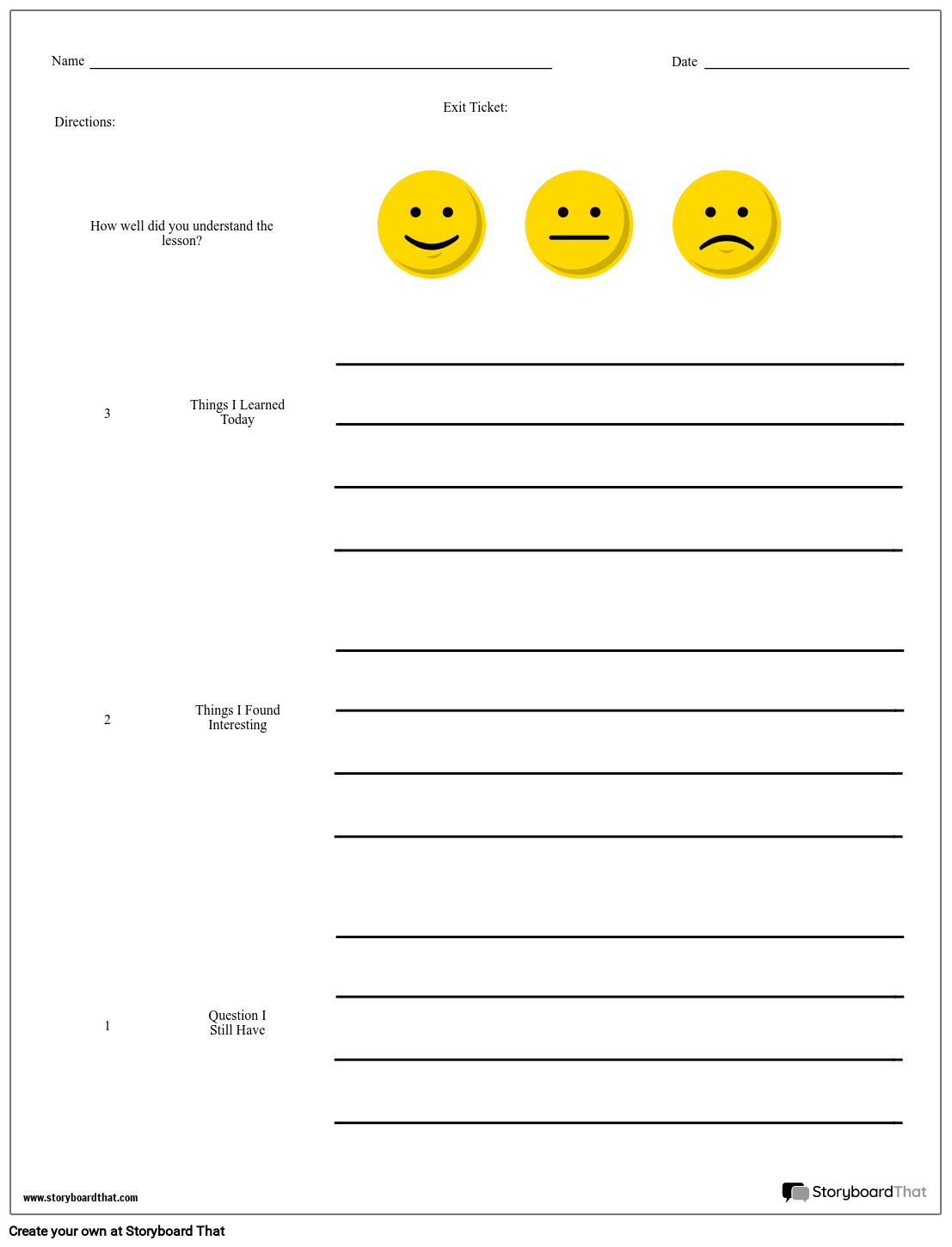 image relating to Printable Exit Tickets identify Make an Exit Ticket Exit Ticket Template and Strategies