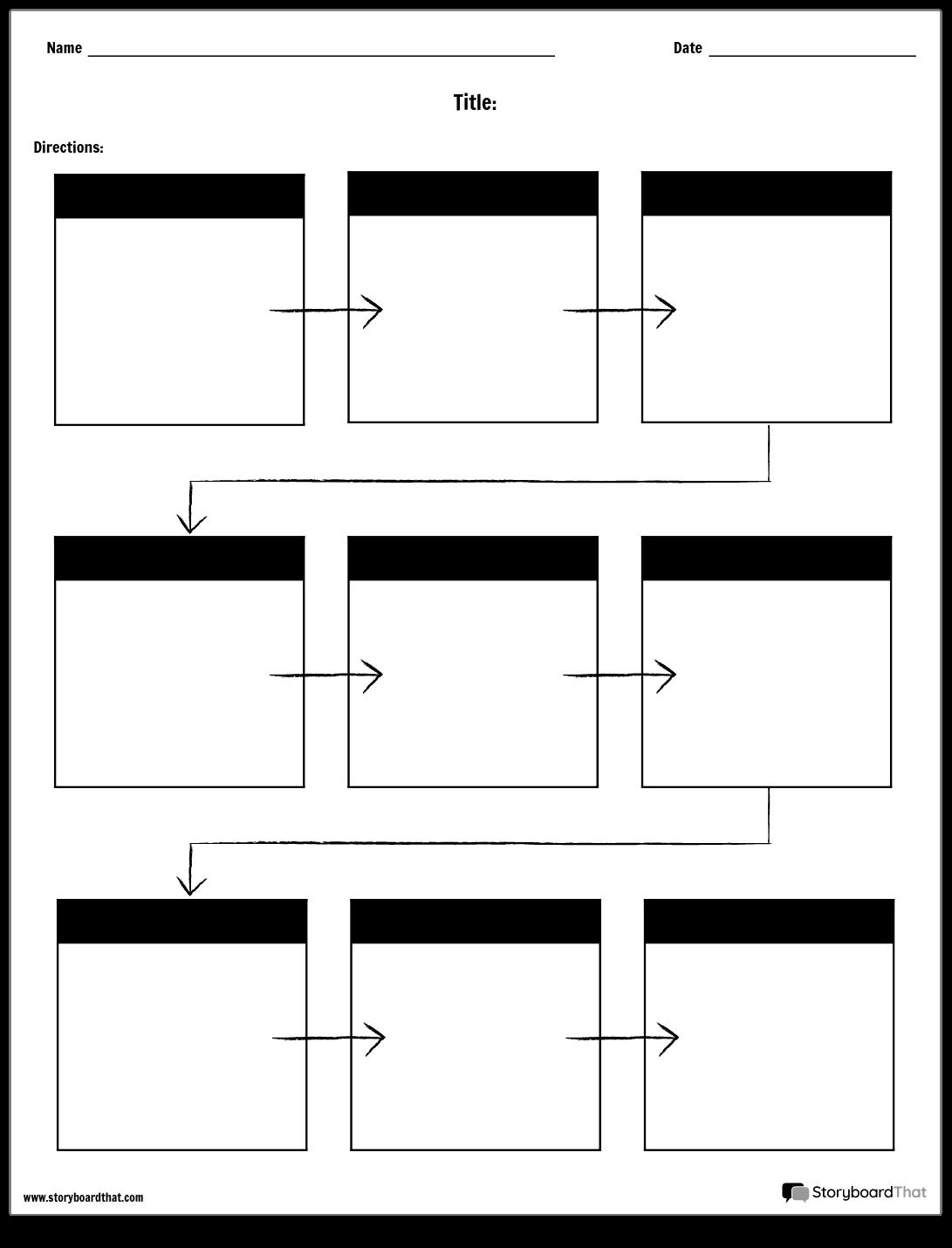Crear Hojas de Trabajo de Diagrama de Flujo | Plantillas de Hoja de ...
