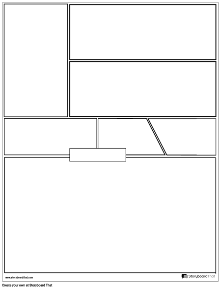 Graphic Novel Layout