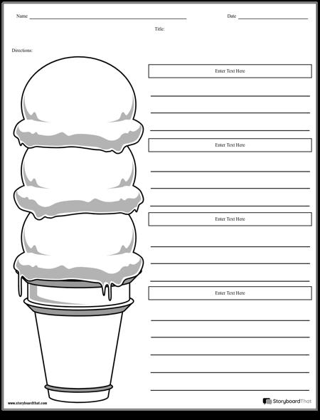 Ice Cream Cone Paragraph