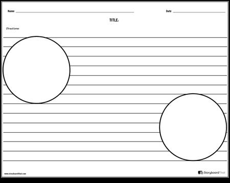 Two Circle Illustrations