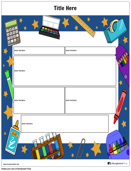 Lesson Planner With Boxes