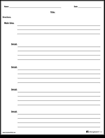 Main Idea - Basic