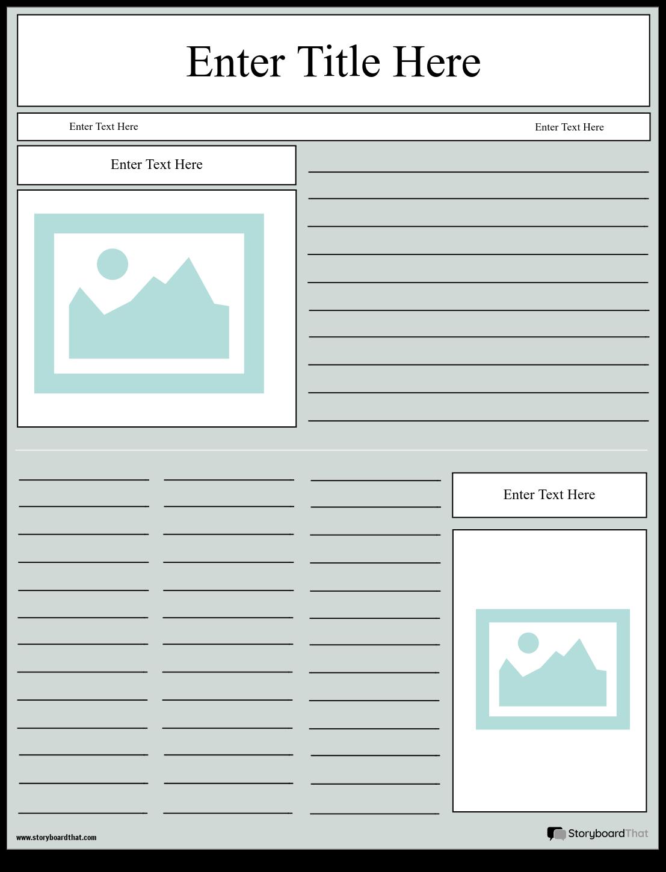 Crear un Diseño de Proyecto de Periódico | Plantillas de Proyectos ...