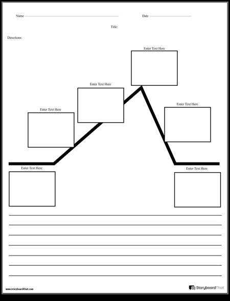 Create A Plot Diagram Worksheet