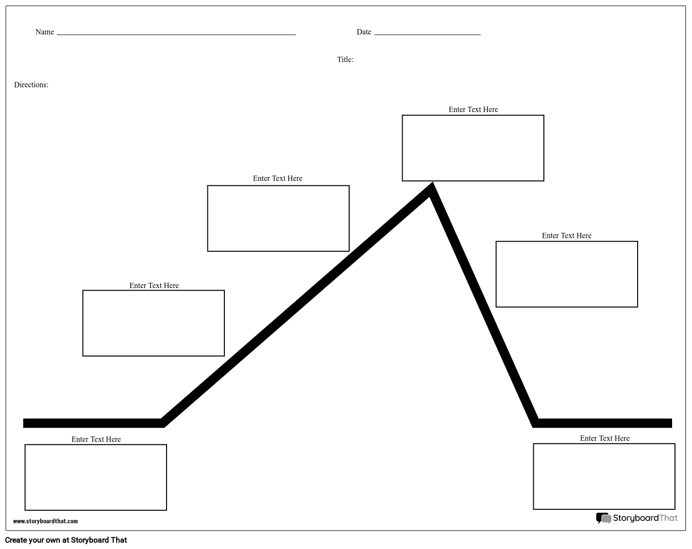 Plot Diagram Storyboard by worksheet-templates