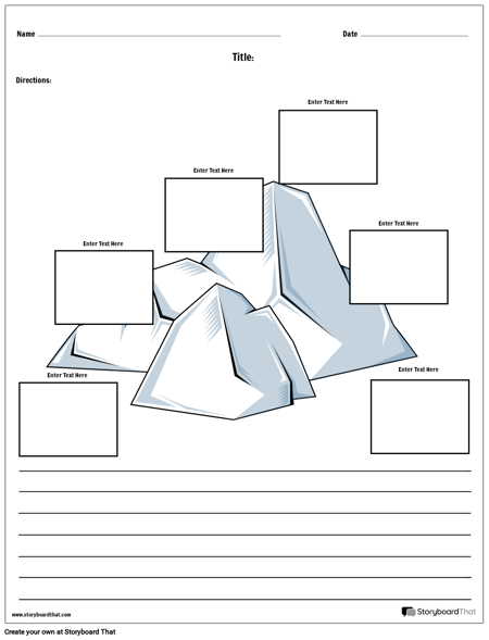 Plot Iceberg with Paragraph