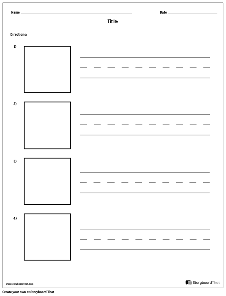 Practice Writing - Longer Words and Picture Boxes