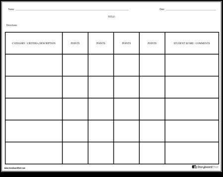 Rubric - Grid