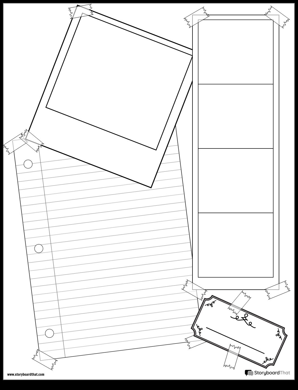Crear un Proyecto de Scrapbook | Plantillas de Scrapbook Project