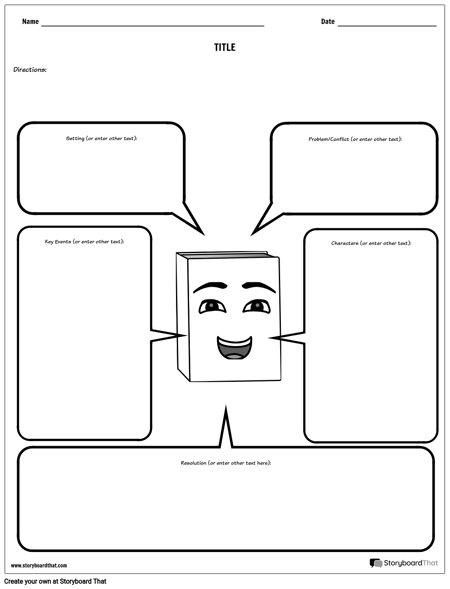 Create A Story Map Template Story Map Worksheets