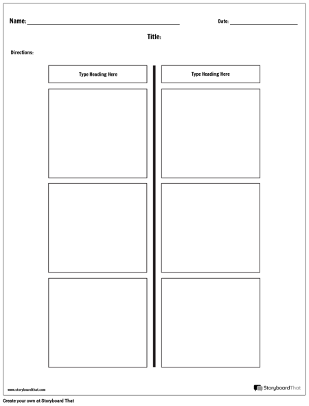 T chart worksheet templates online worksheet maker t chart 2 columns maxwellsz