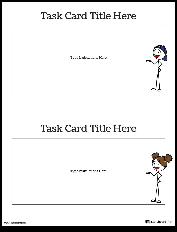 Task Card Template 1