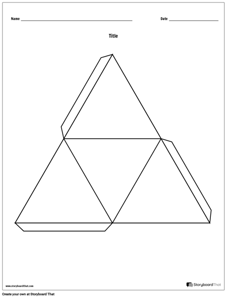 Triangle Story Cube