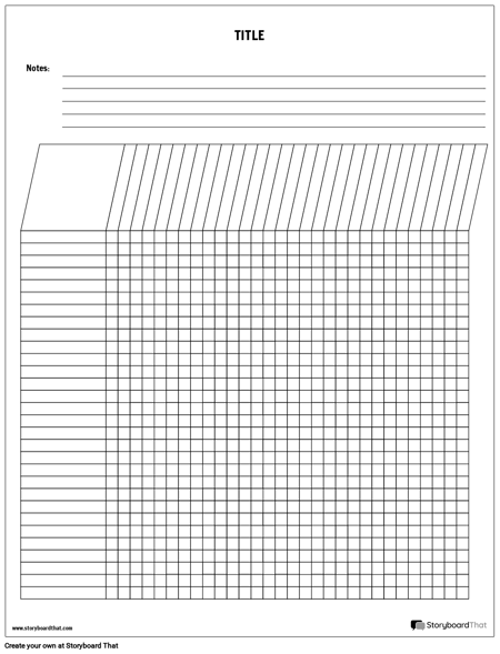 Vertical Grading Template