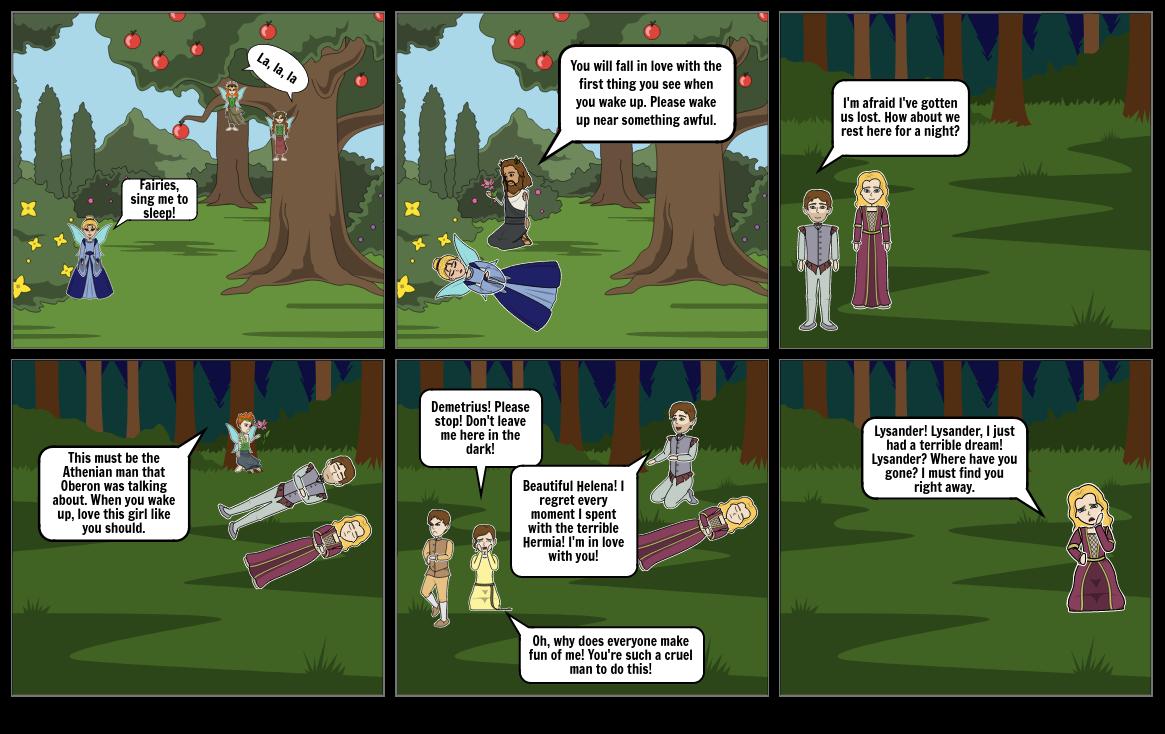 A Midsummer Night's Dream Act 2 Scene 2