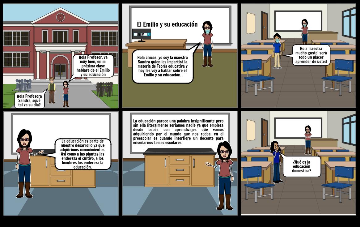 El Emilio de la educación