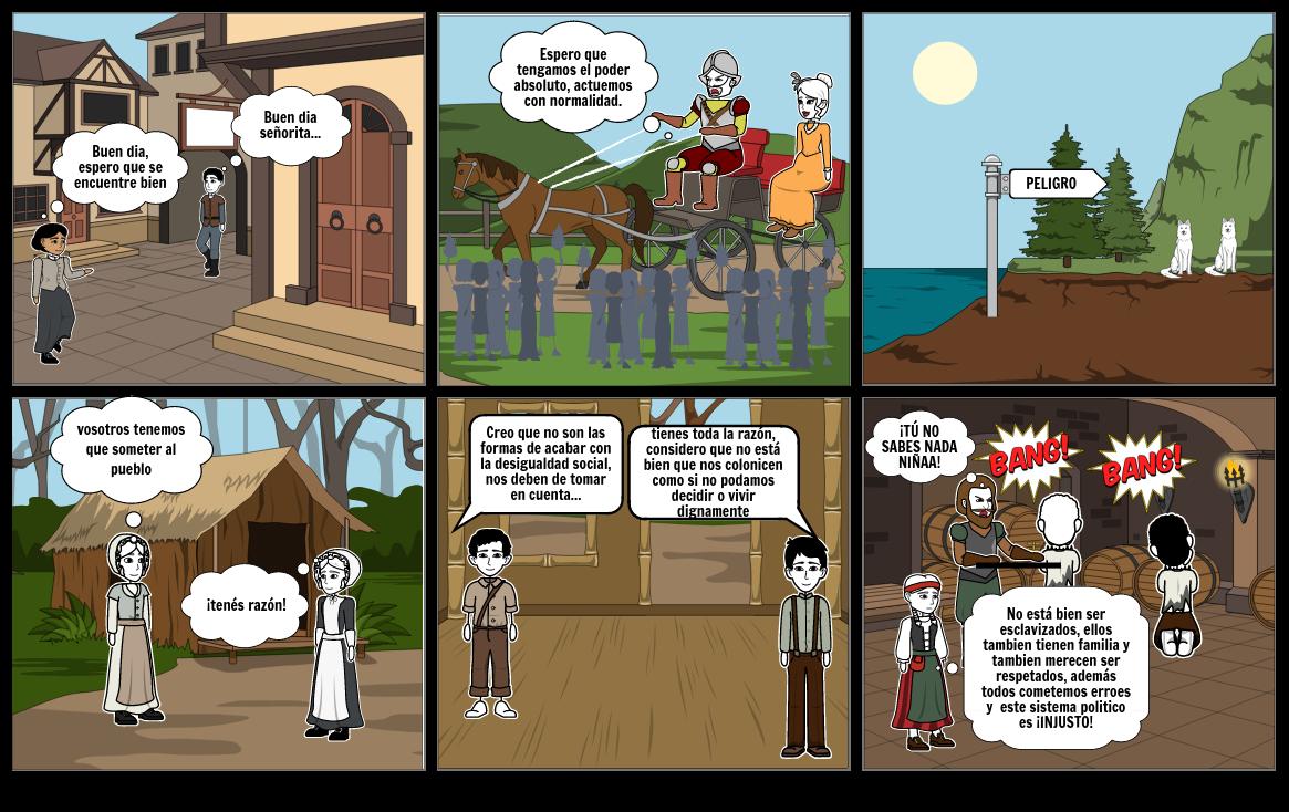 Historieta de colonizacion de baldios