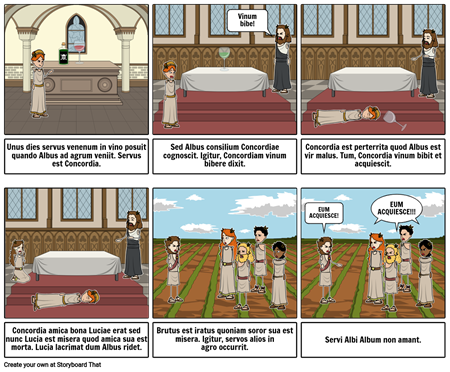 Latin Comic Strip Storyboard Por Yurgurlmel