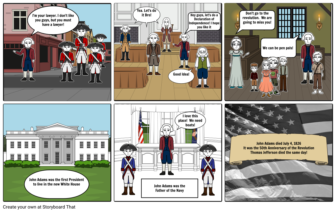 John Adams Storyboard for 2P