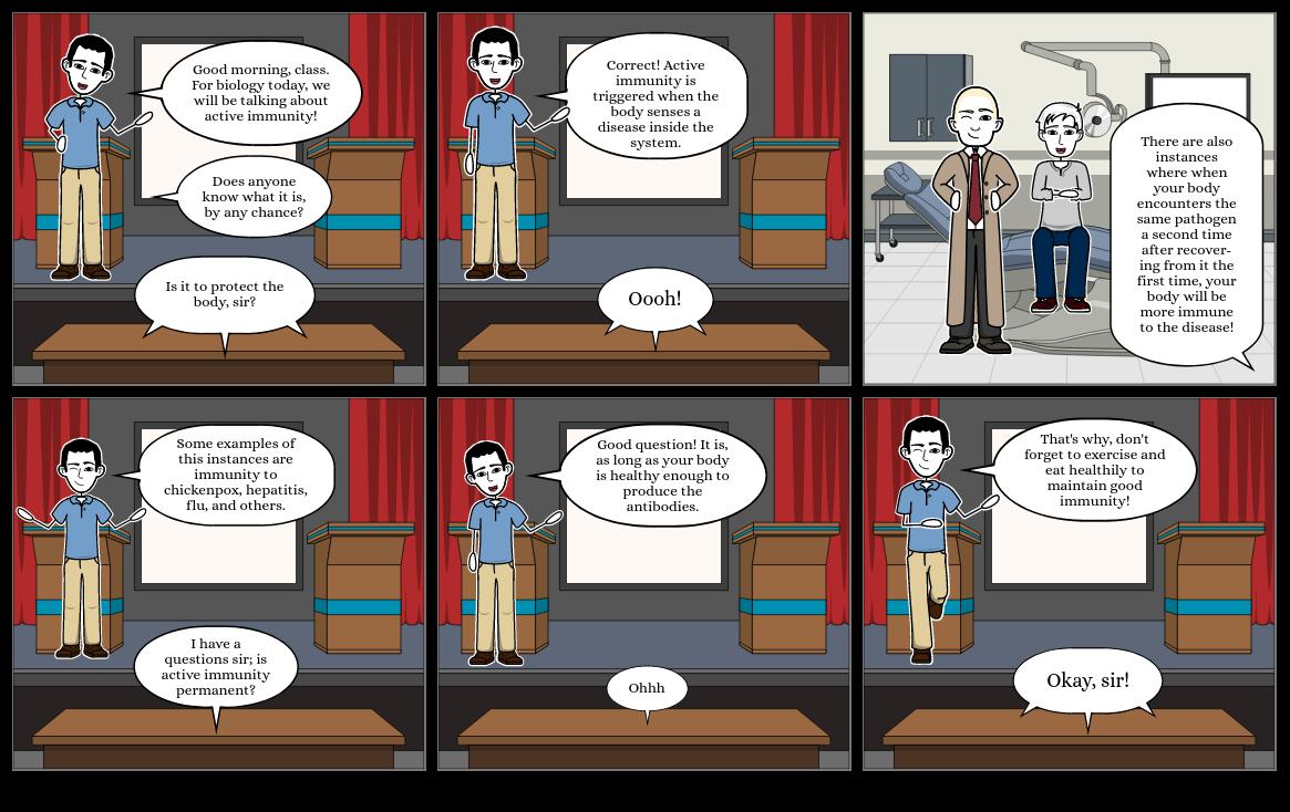 Active Immunity Comic