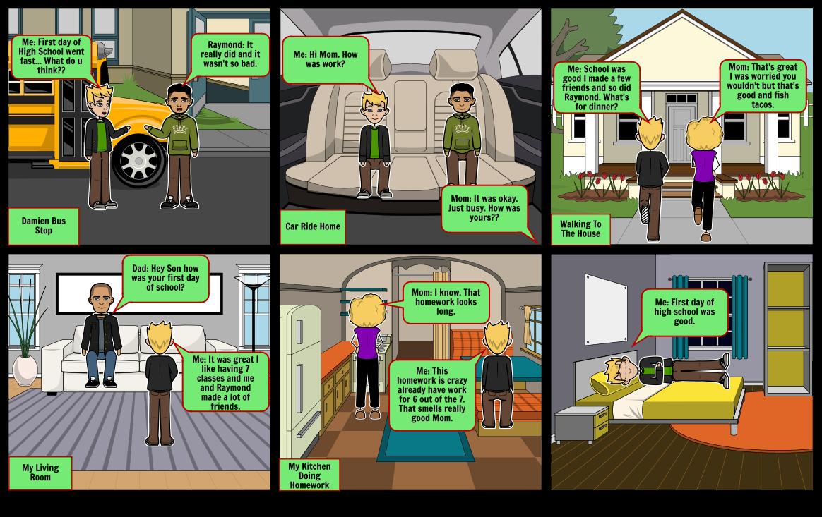 Graphic Novel Project Part 2