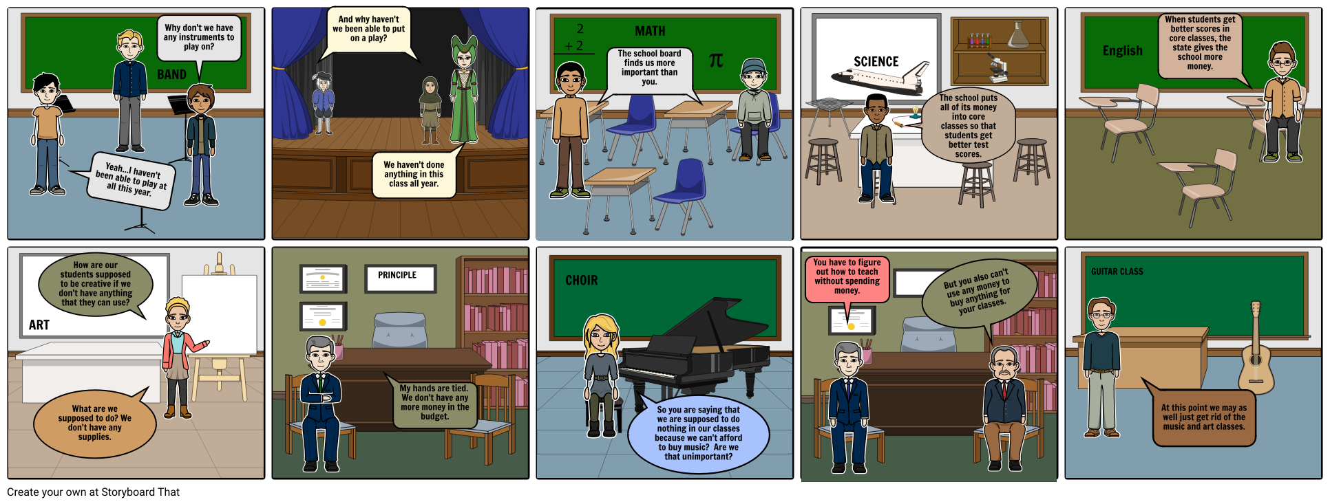 English Satire Project Storyboard By Zwalter0405